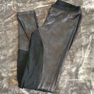 Express Scuba Panel Leggings XS